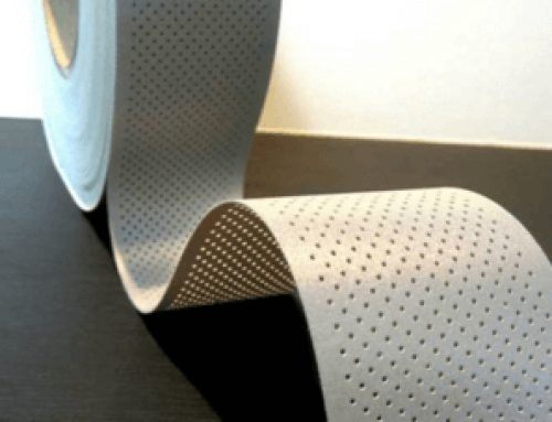 Perfoated and Segment Reflective Tape for Garments
