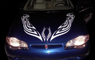 Reflective sheeting for Car Decals