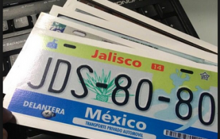 Reflective Sheeting for Mexican Number Plates 1