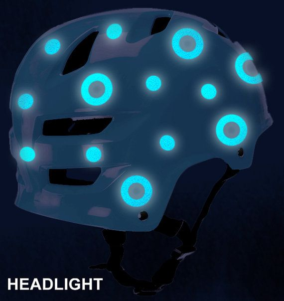 reflectiver helmets stickers