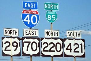 Greensboro_road_signs