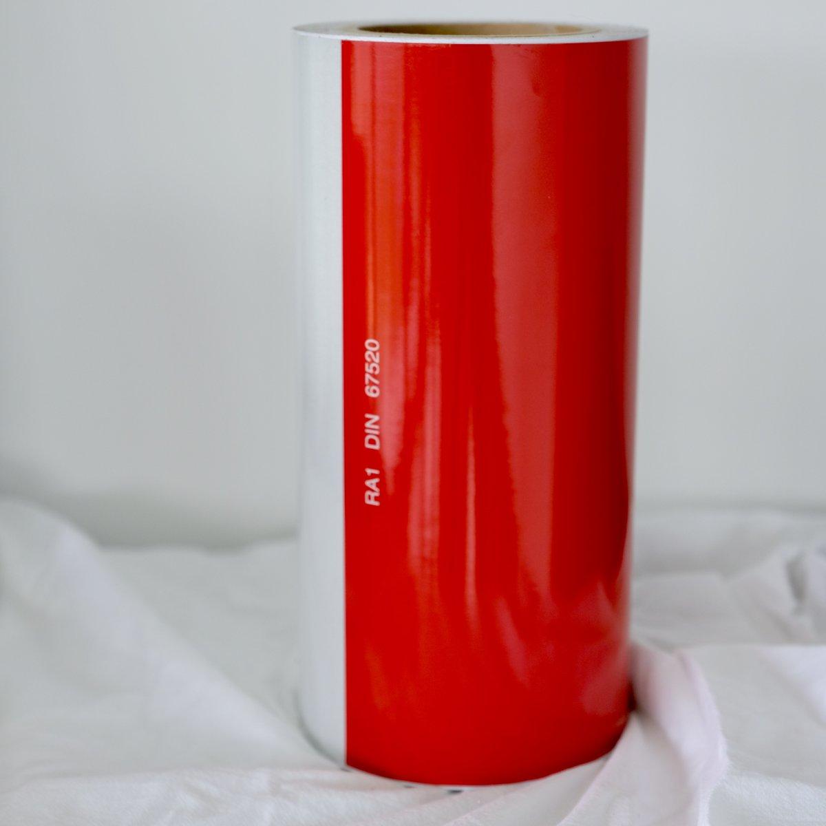 Prestriped Engineer Grade Reflective Barricade Tape
