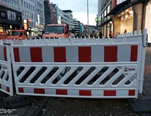 Reflective Barrier Facing Stripe DIN67520 RA1 RA2