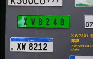 number plate reflective sheeting