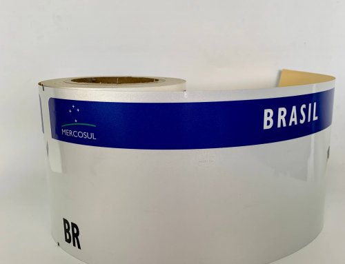 New Brazil Mercosur License Plate Reflective Sheeting is ready