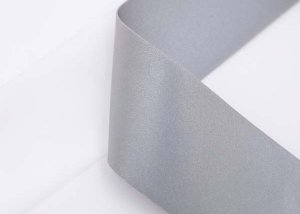 double sided elastic reflective fabric tape