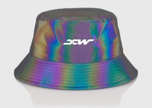 rainbow reflective hat