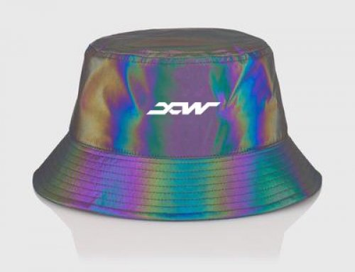 XW8003-C Iridescent Reflective Fabric with Polyester Backing