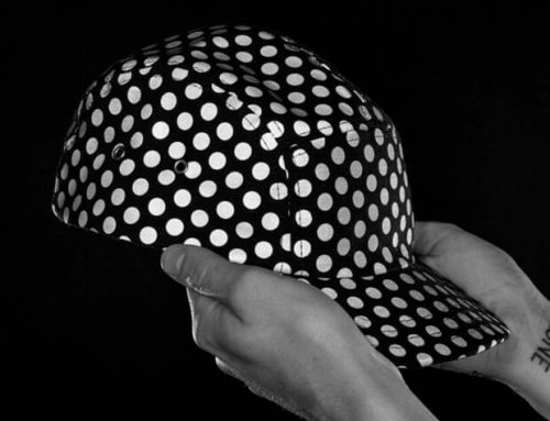 XW8011 Dots Pattern Printed Reflective Fabric for Hats