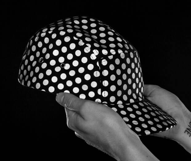 reflective dot hats
