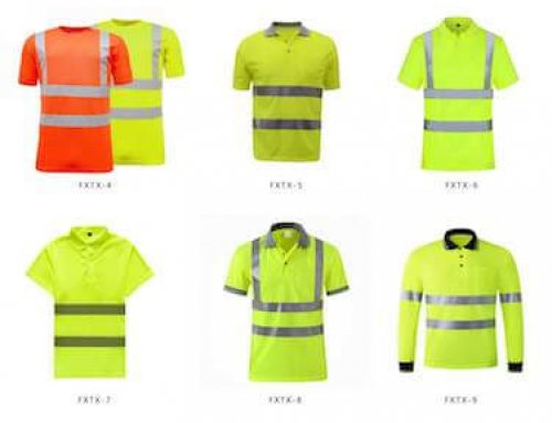 High Visibility Safety Shirts for Workers and Runner