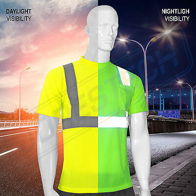 reflective tshirts for runner and workers