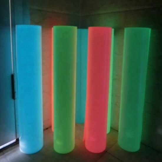 High Quality Glow in The Dark Htv Luminous Heat Transfer Vinyl for Garments