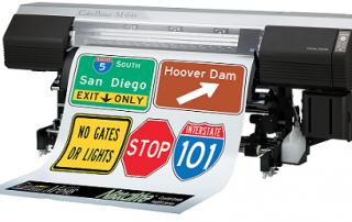 reflective sheeting digital printing