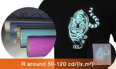 High-brightness reflective heat transfer vinyl 400x240