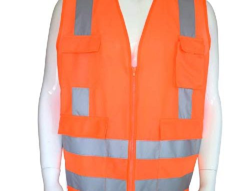 How do reflective vests play a real role in safety protection?